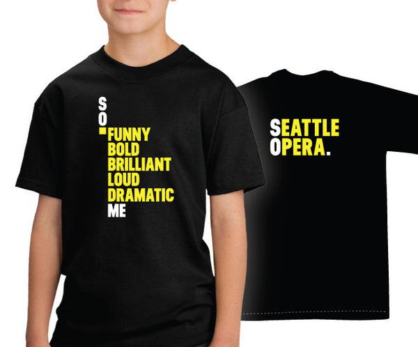 Seattle Opera SO. ME Youth T-Shirt