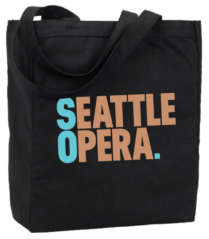Seattle Opera Tote Bag