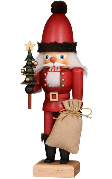 Handmade Santa with Tree Nutcracker