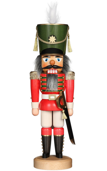 Handmade German Soldier Nutcracker