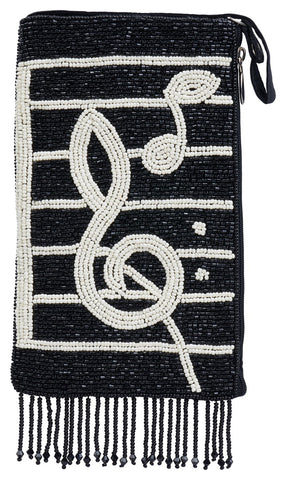 Musical Beaded Phone Bags