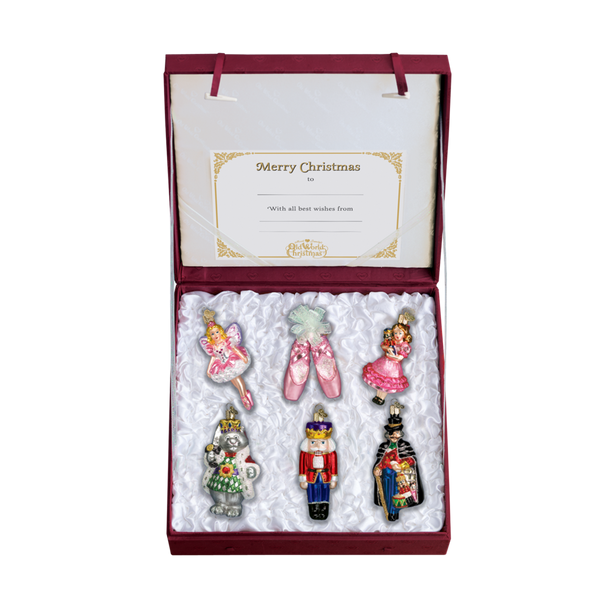 Nutcracker Suite Glass Ornament Collection