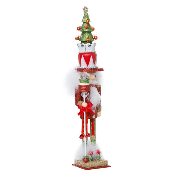 Red & Green Tree Nutcracker