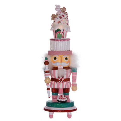 Light-up Candy House Nutcracker