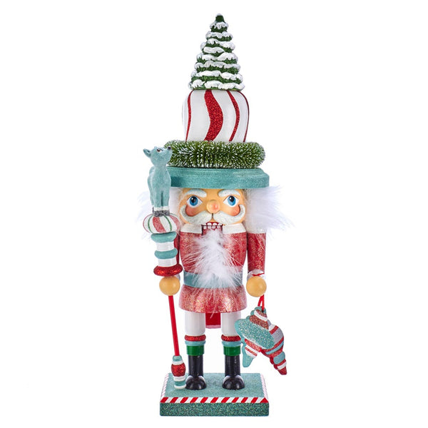 Mint Stripe Nutcracker