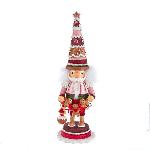 Gingerbread Tree Nutcracker