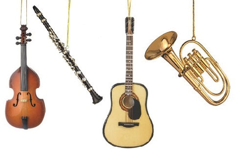 Musical Instrument Ornaments