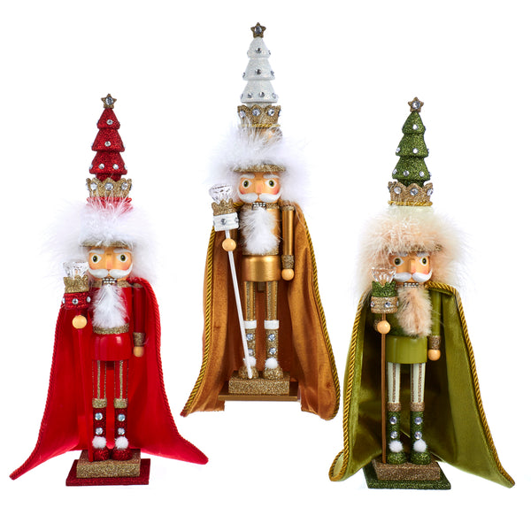 Velvet Cape Nutcrackers