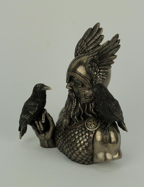 Odin with Ravens Figure