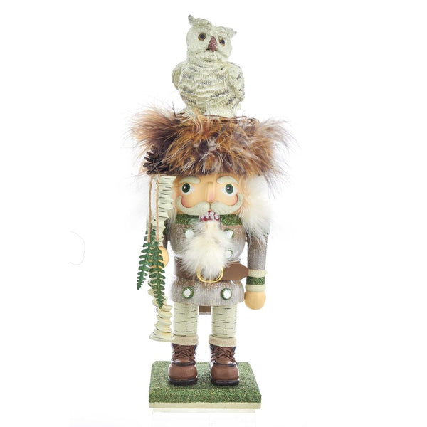 Woodland Owl Nutcracker