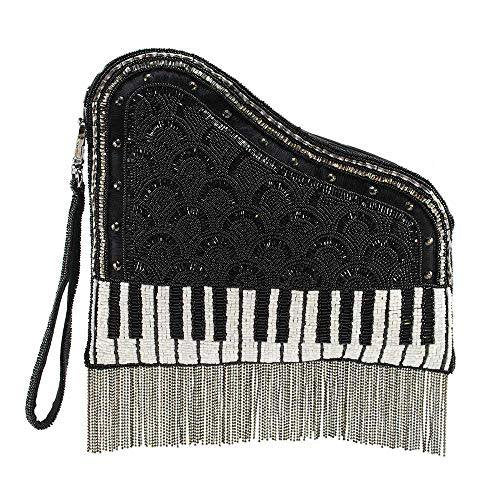 Beaded Leather Piano Bag