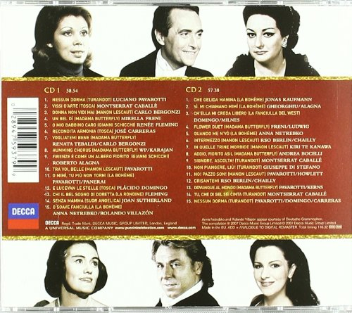 Puccini Gold CD
