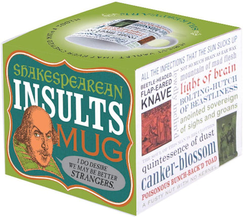 Shakespeare Love & Insults Mugs