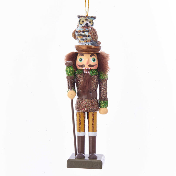 Woodsman Nutcracker Ornament