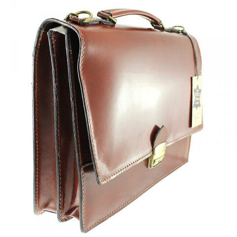 Dual Compartment Briefcase Feb7003