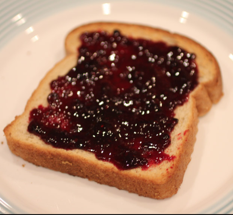 Blackberry Jam Toast