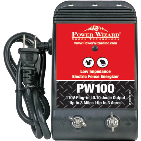Power Wizard PW100 Fence Energizer