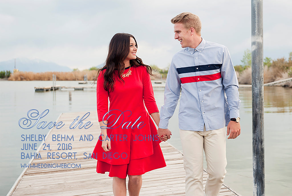 Save the Date Nautical