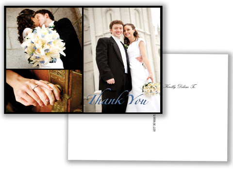 Thank You Postcard Classic Photo