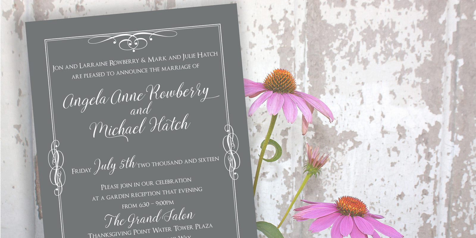 Welcome to RoseyMae Wedding Paper Design!
