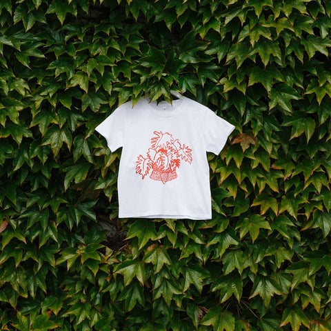 Forest Drawn hand screen printed tshirt