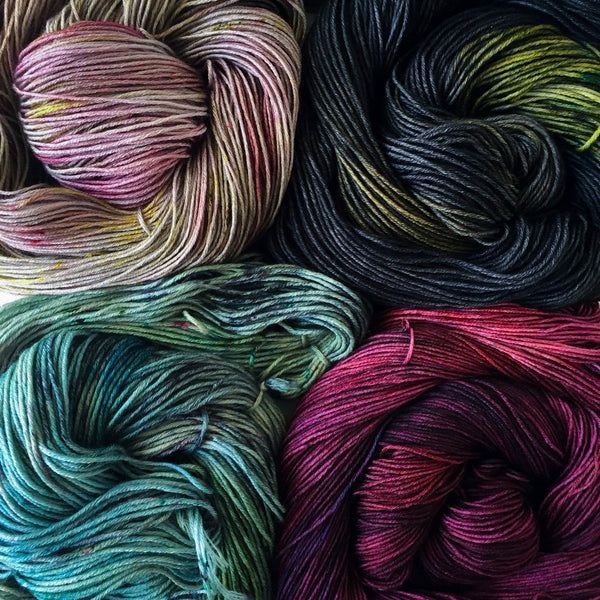 Wool Dye Class - Acid Reactive Dyes at The Neighbourhood