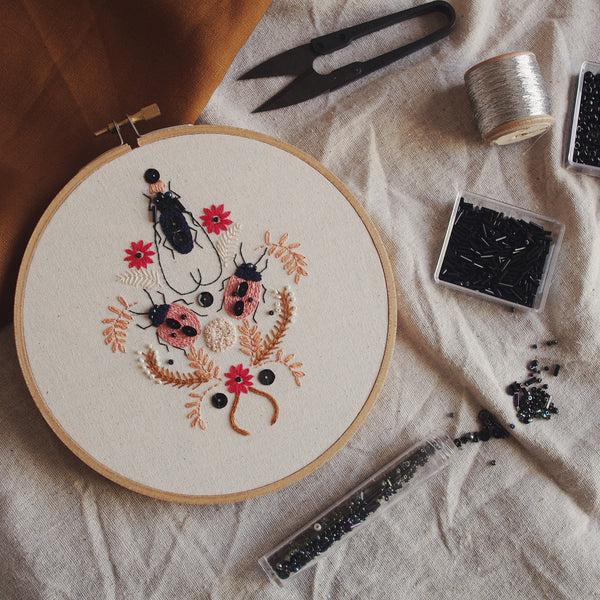 Embellished Insects Embroidery - 27th April