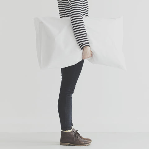 100% cotton pillow case for screen printing