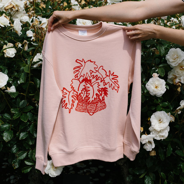 Philodendron sweatshirt by Forest Drawn