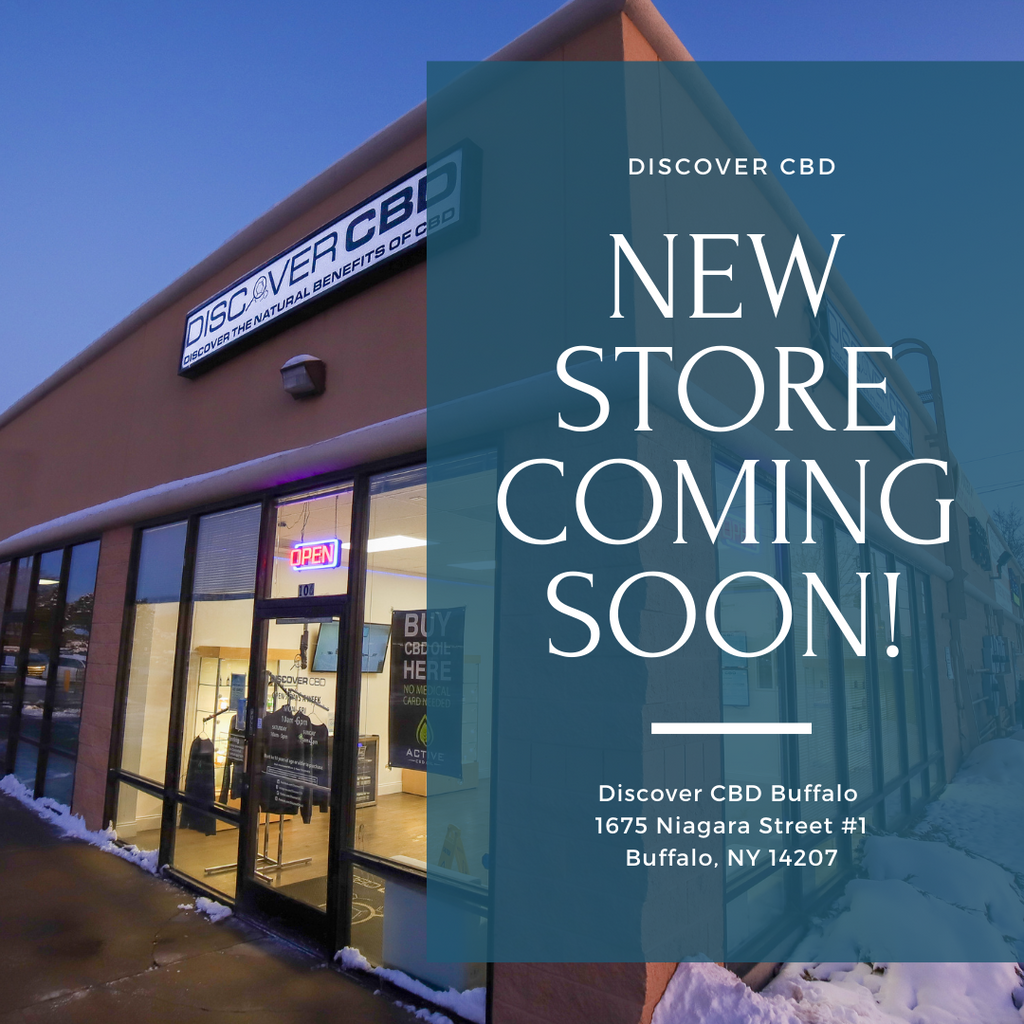 Coming Soon: Discover CBD Expands to Buffalo, NY!