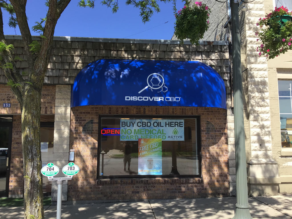Discover CBD Now Open In Lake Geneva
