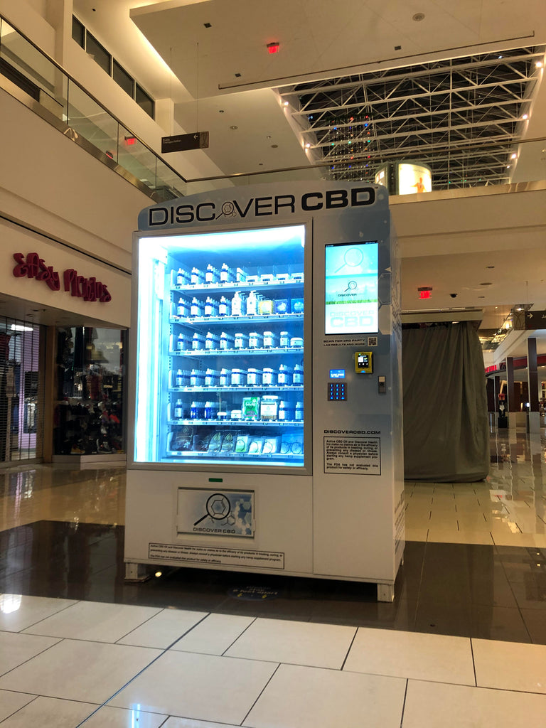 Shop The First Discover CBD Vending Machine in New Jersey!
