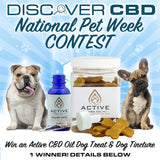 Discover CBD National Pet Week Contest! ENDS 4/12 at 5 PM MST.