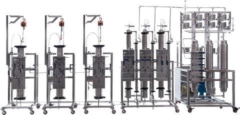 Supercritical CO2 extraction equipment, photo from Eden Labs https://www.edenlabs.com/processes/co2-extraction