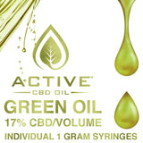 Active CBD Full Spectrum Green Oil