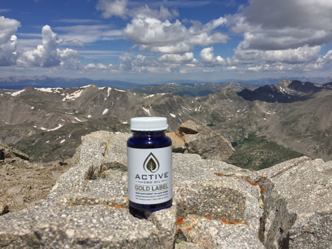 Discover CBD Water Soluble Capsules, Favorite Product above 14,000 ft in Colorado
