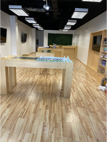 Inside of Discover CBD Miami