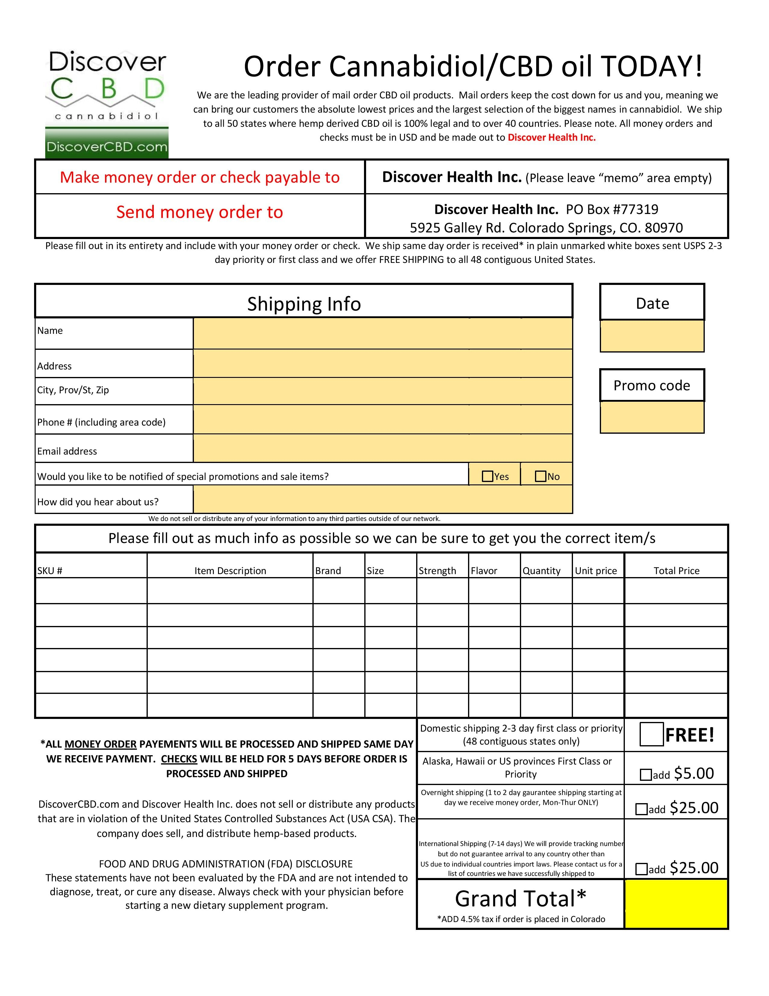 How To Fill Out A Check Money Order – Money Order Form