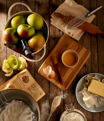 ingredients to make an apple pie