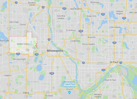 Google Maps: Golden Valley, Minnesota Discover CBD Store Location