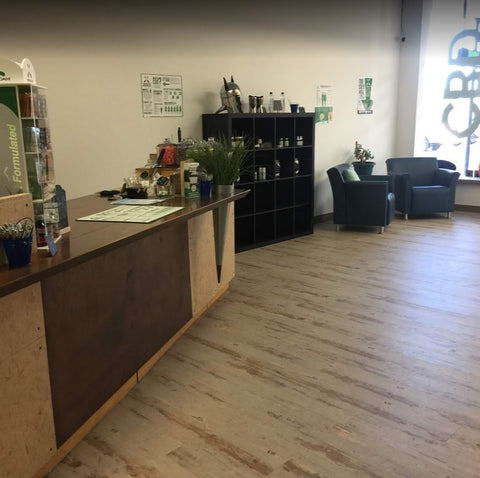 Inside the Discover CBD Golden Valley MN Location