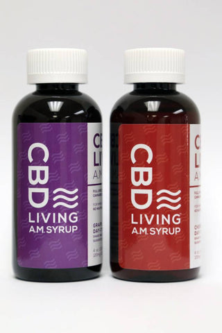 Living CBD Oil AM Syrup