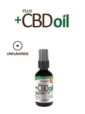 PlusCBD Spray - Cannabidiol Tincture - Unflavored - DiscoverCBD.com - 1