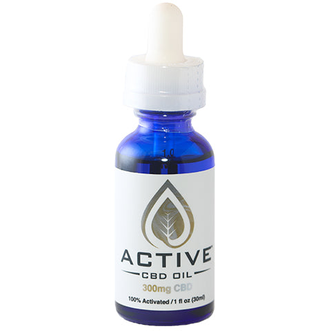 Image of CBD/MCT oil tincture front