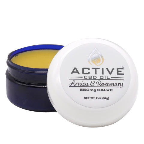 Active CBD Oil Salve 550mgs - 1100mgs
