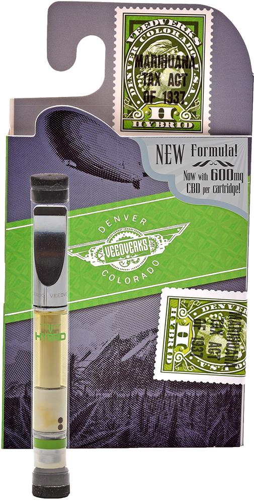 CBDfx VeedVerks - 420mg CBD Vape Pen Cartridge (terpene infused)