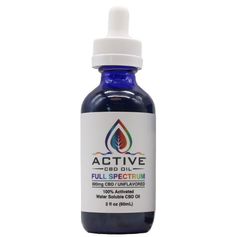 Image of full spectrum cbd tincture front