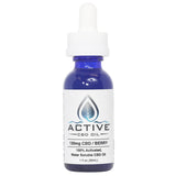 Active CBD oil tincture - Water Soluble - 120mg