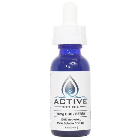 CBD Oil Tincture closed bottle