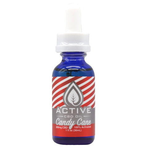 Image of Active CBD Oil - Candy Cane Tincture